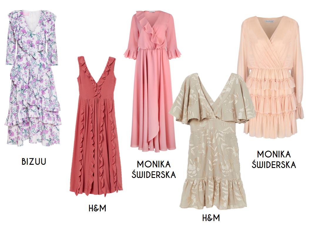 0cb9efde090b90 sukienka we wzór paisley i sukienka koronkowa z satynowym paskiem, bon prix