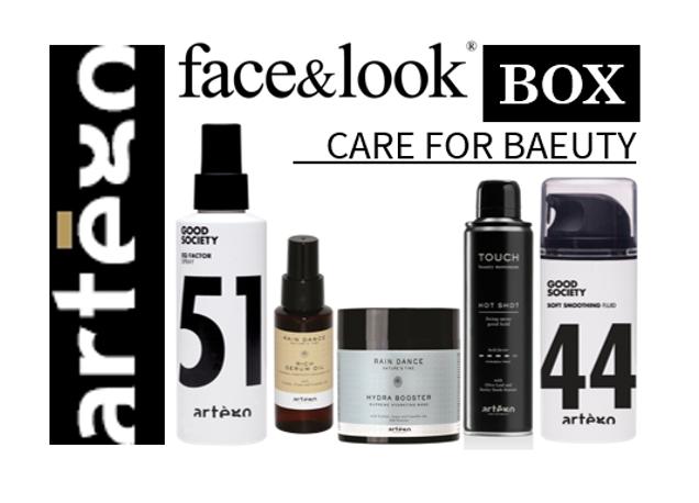 face&look BOX artego CARE FOR BEAUTY