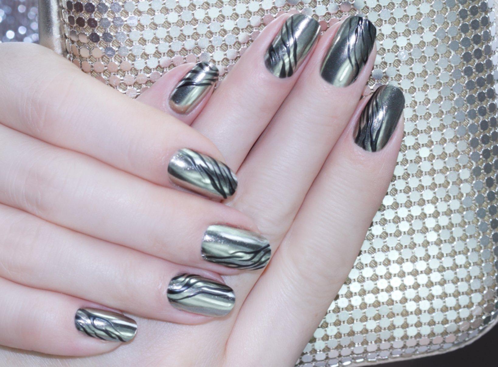 świąteczno Zimowy Manicure Krok Po Kroku Facelook Wybieraj